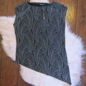 NWT Assymetrical Dressy Top